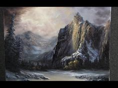 Paint with Kevin Hill - The Towering Mountains - YouTube