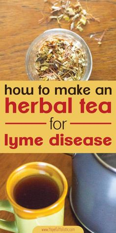 If you are looking for a treatment for Lyme disease, you should consider adding herbal tea to your chronic Lyme disease treatment! Here are facts about Lyme, including the best herbs for Lyme disease and how to make an herbal tea for Lyme. Herbal Tea Benefits, Best Herbal Tea, Herbal Cure, Natural Health Remedies, Natural Cures, Herbal Remedies, Natural Medicine, Herbal Medicine, Solar
