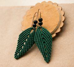 The Leaf Inspired Handmade Jewelry : stylish leaf earringHandmade-Jewelry-Club