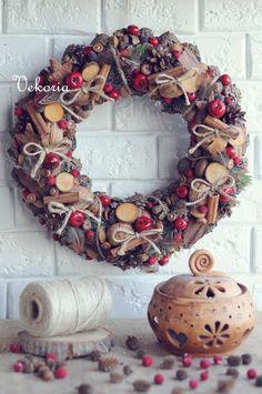 Holiday Wreath, Christmas Wreath, Christmas Decorations, Wreaths for Christmas, Holiday Decorations, Xmas Decorations,