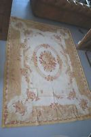 Large Laura Ashley Aubusson rug cream gold 160 x 230cm uk postage good condition
