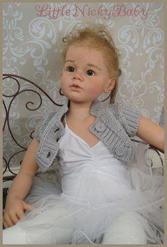 LNB♥  Reborn Toddler ♥  Little Ballerina ANGELICA by Reva Schick ♥ Human Hair ♥