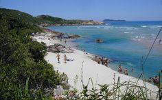 Praia Guarda do Embaú, Palhoça (SC), Brasil