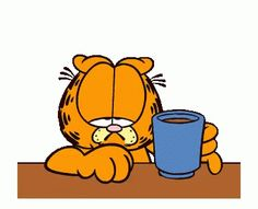 The perfect Garfield Coffee Animated GIF for your conversation. Discover and Share the best GIFs on Tenor. Garfield Cartoon, Garfield And Odie, Garfield Comics, Coffee Gif, Coffee Love, Minions, Comic Cat, Garfield Pictures, Memes Gifs