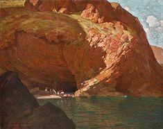 Edgar Alwin Payne (1883–1947) The Rendezvous, Santa Cruz Island, CA (1915)