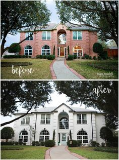 Exterior Ranch House Colors Ranch Remodel On Pinterest