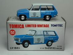 TOMICA LIMITED VINTAGE TOMYTEC LV-N84b MAZDA FAMILIA VAN TOYO KOGYO 1/64 JAPAN #Tomica #Mazda