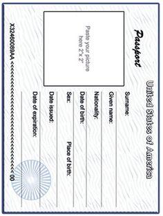 Travel Around The World, Around The Worlds, Employee Id Card, World Traveler, Passport, Ticket, School Certificate, Texts, Bank Statement