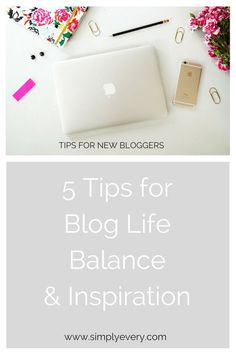 If there's anything I've learned as a new blogger, it's that the struggle is real when it comes to blog life balance.
