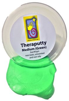 SensoryTools.net Australia - Theraputty - Medium (Green) Hospital Grade