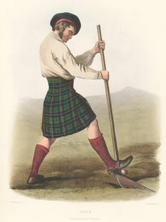 Rose Tartan. The Clans of the Scottish Highlands | R. R. McIan