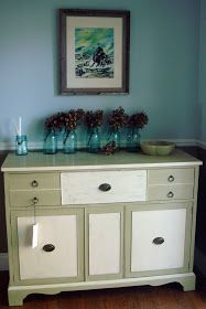 Whimsical Perspective: A Whimsical Makeover: The Plain Jane Buffet