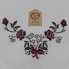 Crewel Embroidery, Embroidery Patterns, Cross Stitch Patterns, Lavander, Dress Sewing Patterns, Projects To Try, Tattoos, Rose, Crochet