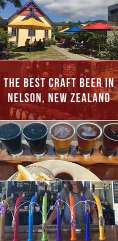 The best craft beer in Nelson, New Zealand #craftbeer #beer #nelson #newzealand #nz #travel
