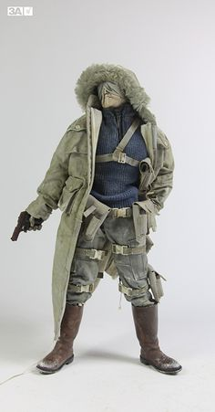 Closer look at AK Merde Mission, which is premade and up for sale at www.bambalandstore.com right now   #threeA #AdventureKartel #Bambasale #toyphotography #toyplanet #collectible #actionfigure