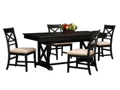 Plantation Cove Black Armoire - Value City Furniture ...