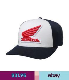 9ec3df0e416 Hats Fox Racing Men s Honda Flexfit Hat Midnight Blue Baseball Cap Headwear  Apparel  ebay