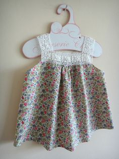 Crochet Yoke Tunic for Little Girls