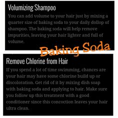 Remove chlorine after swim, I wouldn't use dish soap hahhahaa just add baking soda to shampoo and I can barely smell chlorine on my hair!