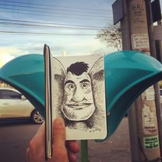 SketchBlog — Orelhão #orelhao #orelha #art #arte #apple #artist...