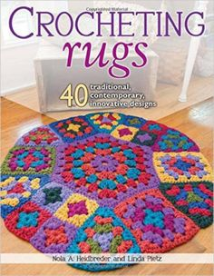You could find a crochet rug pattern for any room in the house using the book Crocheting Rugs: 40 Traditional, Contemporary, Innovative Designs.