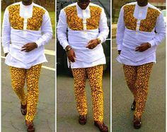 New African clothing for men,Top and Down for men, Men's fashion,trendy Shirt and pants,African wear for men