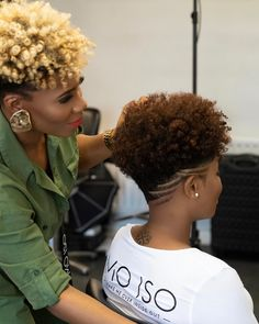 Ideas For Hair Cuts Short Curly Natural Curls Tapered Twa Tapered Natural Hair Cut, Natural Hair Short Cuts, Short Natural Haircuts, Short Hair Cuts, Natural Hair Styles, Tapered Twa, Natural Curls, Tapered Natural Hairstyles, Undercut Natural Hair