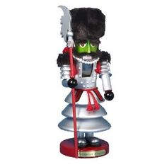 Kurt Adler 18-Inch Steinbach Wizard of Oz Winkie Guard Signed Nutcracker - oh wee oh, oh oh; oh, wee oh, oh, oh.