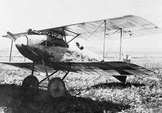 Albatros D.II single-seat fighter biplane.