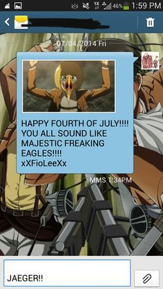 So, this is what I sent all my friend for Fourth of July XD