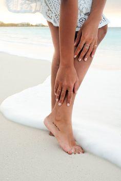 OCEAN DEVOTION - Soraya Bakhtiar - Skin Feelings Temporary Tattoo - La vie en rose