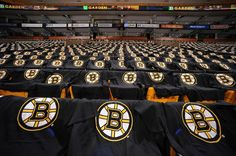 1/19/13: The Bruins gave away free food, a free t-shirt, a poster, AND the players gave away the jerseys off their backs after the game. I wish I went to the game!