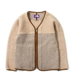 Nanamica The North Face Purple Label Wool Fleece Cardigan from Japan New   eBay