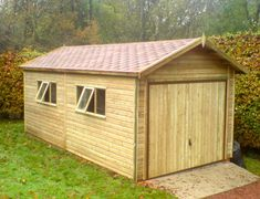 Wooden Garages UK, Timber Garages For Sale - Tunstall Garden Buildings