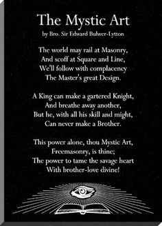 *The Mystic Art Stone Plaque* -Mason's Craft Masonic Art, Masonic Lodge, Masonic Symbols, Prince Hall Mason, Illuminati Conspiracy, Eastern Star, Freemasonry, Knights Templar, Our Lady