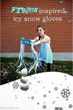 DIY Frozen inspired kids craft