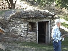 stone sheds earth berm | Stone Foundation For A Small Shack - Building & Construction - DIY ...