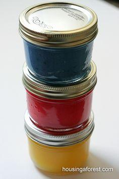 Finger Painting Recipe
