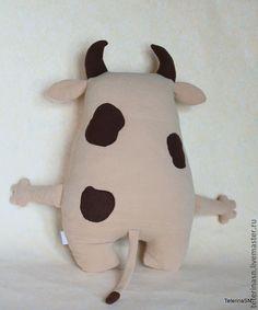 Baby Pillows, Kids Pillows, Fabric Animals, Felt Animals, Sewing Toys, Baby Sewing, Fabric Doll Pattern, Plush Horse, Animal Cushions