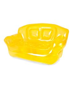 Look what I found on #zulily! Canary Yellow Inflatable Bubble Couch #zulilyfinds