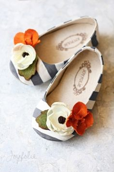 baby girl shoes. by enid