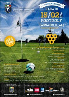 Sabato 15 febbraio, nel meraviglioso Golf Club Colline del Gavi a Tassarolo (AL),  si gioca il 2° Colline del Gavi Footgolf Challenge, valido per il Campionato Italiano di Footgolf ed il Ranking Italia della @Giovanni Russo Italiana FootGolf