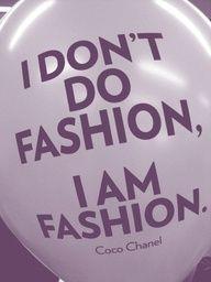 One of my favorite CoCo Chanel quotes. Uñas Fashion, Fashion Quotes, Chanel Fashion, Fashion Women, Fashion Jobs, Funny Fashion, Fashion History, Timeless Fashion, Street Fashion