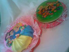 Princesas Disney torta y gelatina