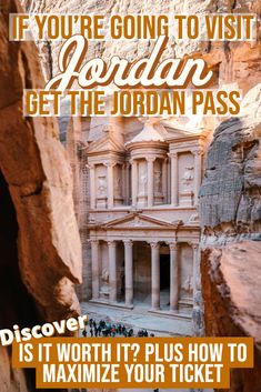 The Jordan pass is the ultimate sightseeing ticket. Use just one ticket for all of the great archaeological sites throughout Jordan. From the stunning Rose Red City of Petra to the Roman Ruins in Jerash, this pass is tailor-made for all types of visitors. In this Jordan travel guide we cover is the Jordan Pass worth it, plus how to maximize your ticket #Planyourtrip #Travel #Jordan #JordanPass #TravelIdeas #SaveMoney #TravelGuide