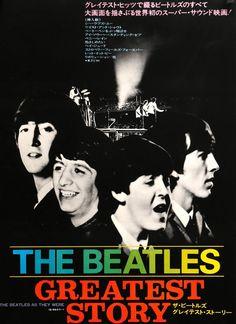 Beatles Greatest Story (1978) #1970s #1978 #20x29