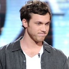 Phillip Phillips made the top two on American Idol.