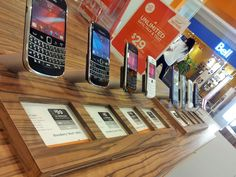 Floating phones that always come back to the same spot at Wind Mobile in Canada Wind Data, Brio, Retail Design, Tape, Phones, Canada, Home Decor, Homemade Home Decor, Duct Tape