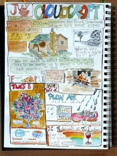 I always think I might try this with my travel journal, but then it just doesn't turn out how I'd like