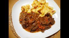 Ragú z jelenieho mäsa Steak, Beef, Food, Meat, Essen, Steaks, Meals, Yemek, Eten